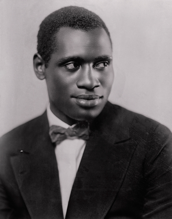 Portrait of Paul Robeson Smiling for Camera